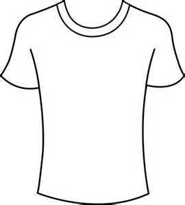 coloring pages of a shirt | T-shirt Coloring - ClipArt Best