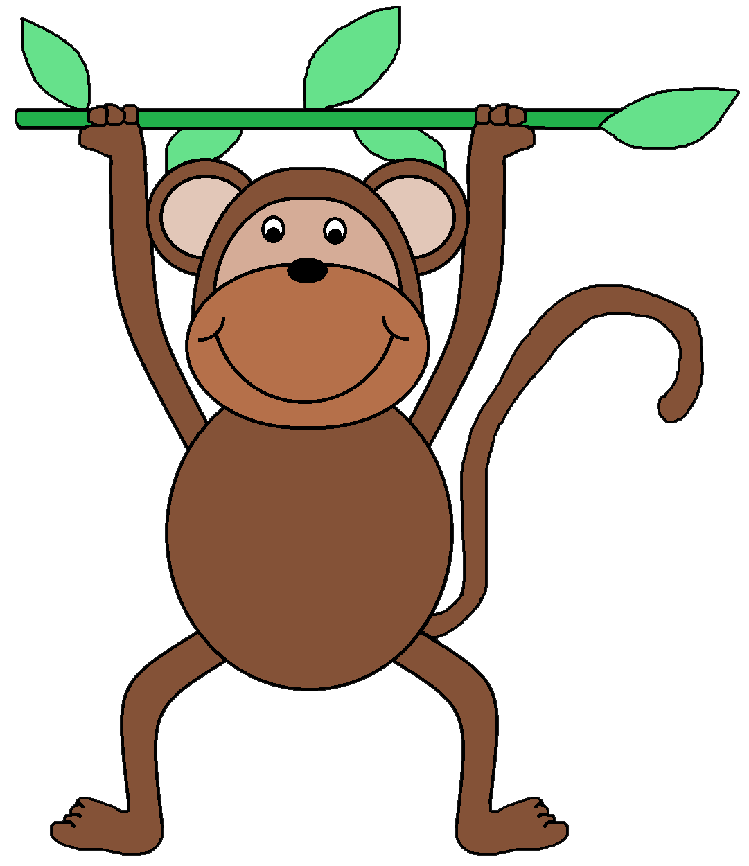 Monkey graphics clip art clipart best for Graphics clipart