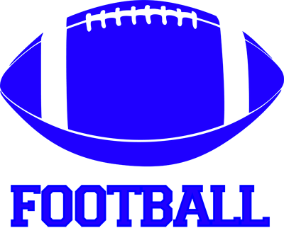 blue football clipart clipart best clipart best Free Football Clip Art Backgrounds football clip art free black and white