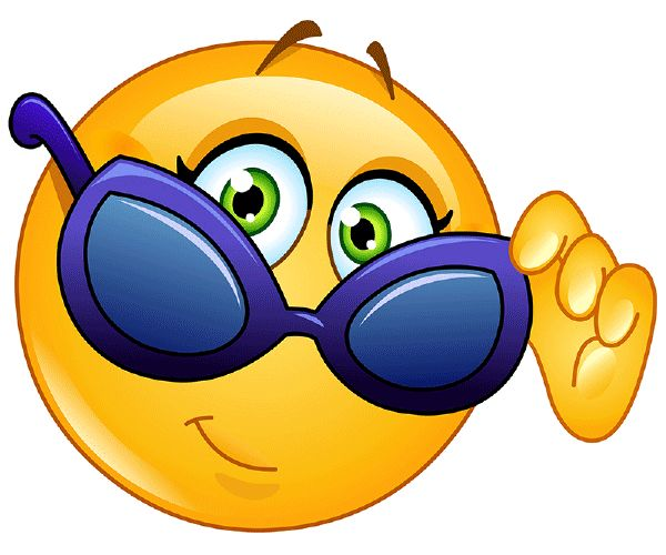 Cool Smiley Face Thumbs Up Cool Smiley Face With ...