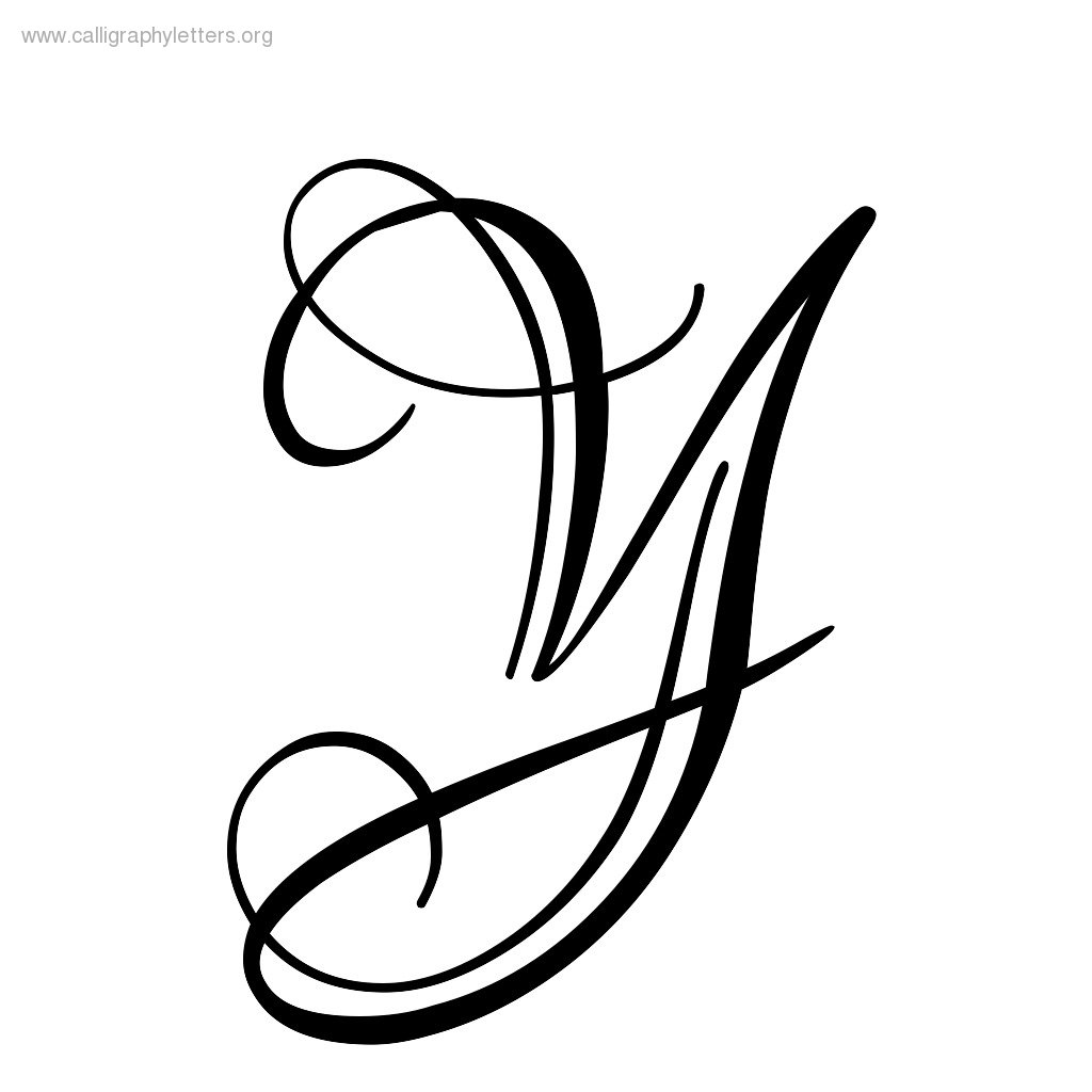 Fancy Letter Y Clipart Best