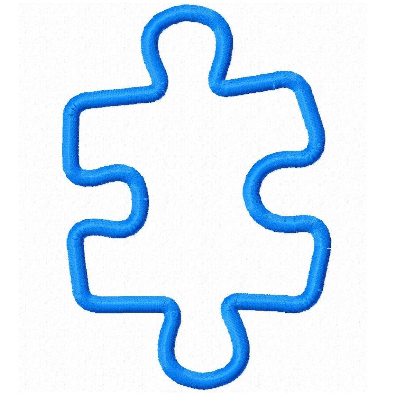 Autism Awareness Puzzle Piece Template
