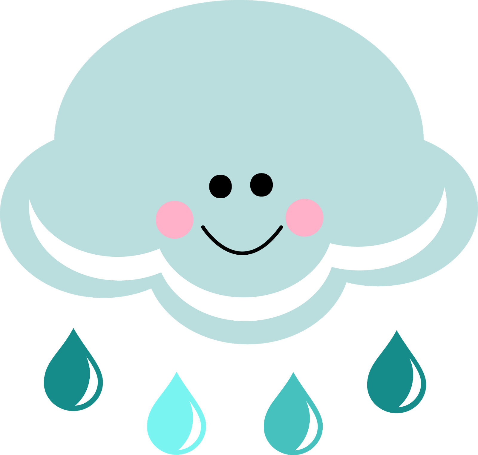 Rain Cloud Clip Art - ClipArt Best