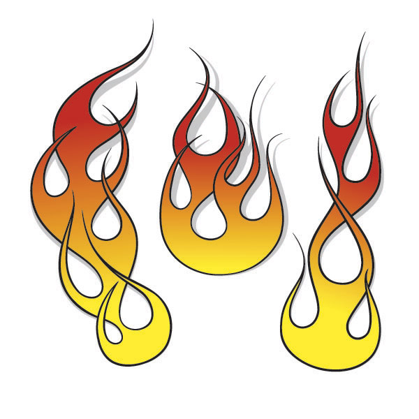 Free Flame Clipart - ClipArt Best