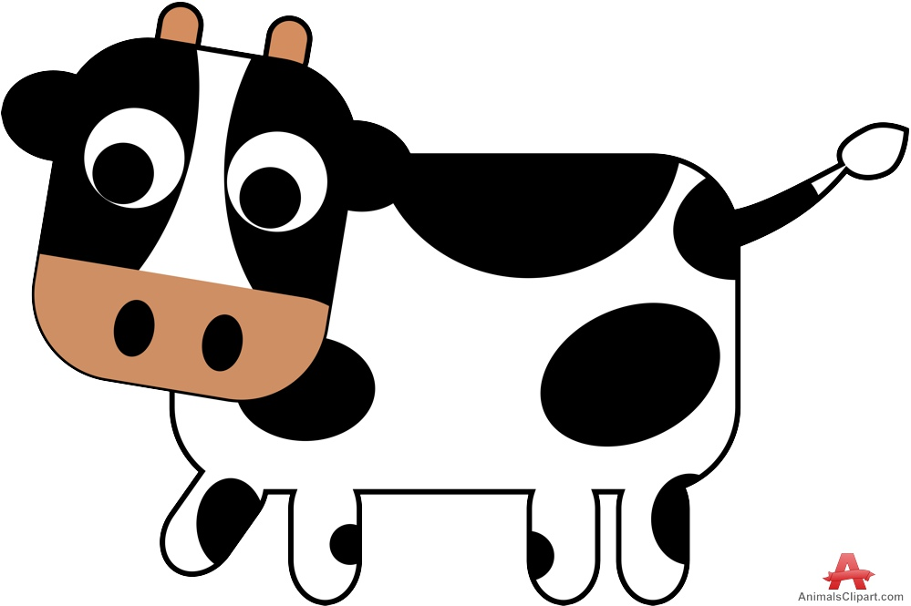 free clip art dairy cow - photo #28