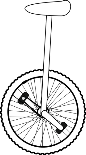 Line Art Quizlet : Unicycle vector clipart best