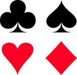 Deck of 6-suits cards - ClipArt Best - ClipArt Best