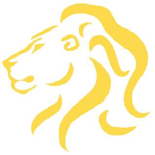 yellow lion logo - photo #31