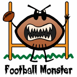 Foot Ball Funny Picture: Funny Football Clipart