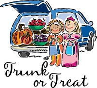Image result for trunk or treat clipart