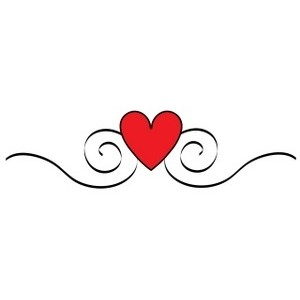 Line Of Hearts Clip Art - ClipArt Best