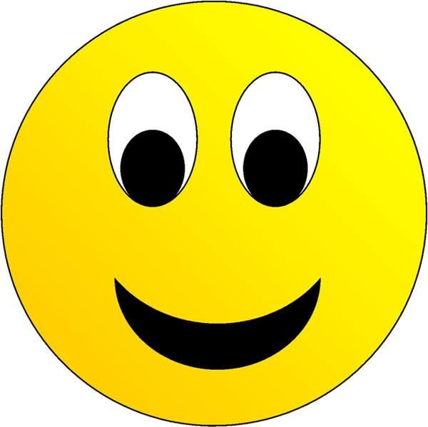 smiling face clip art