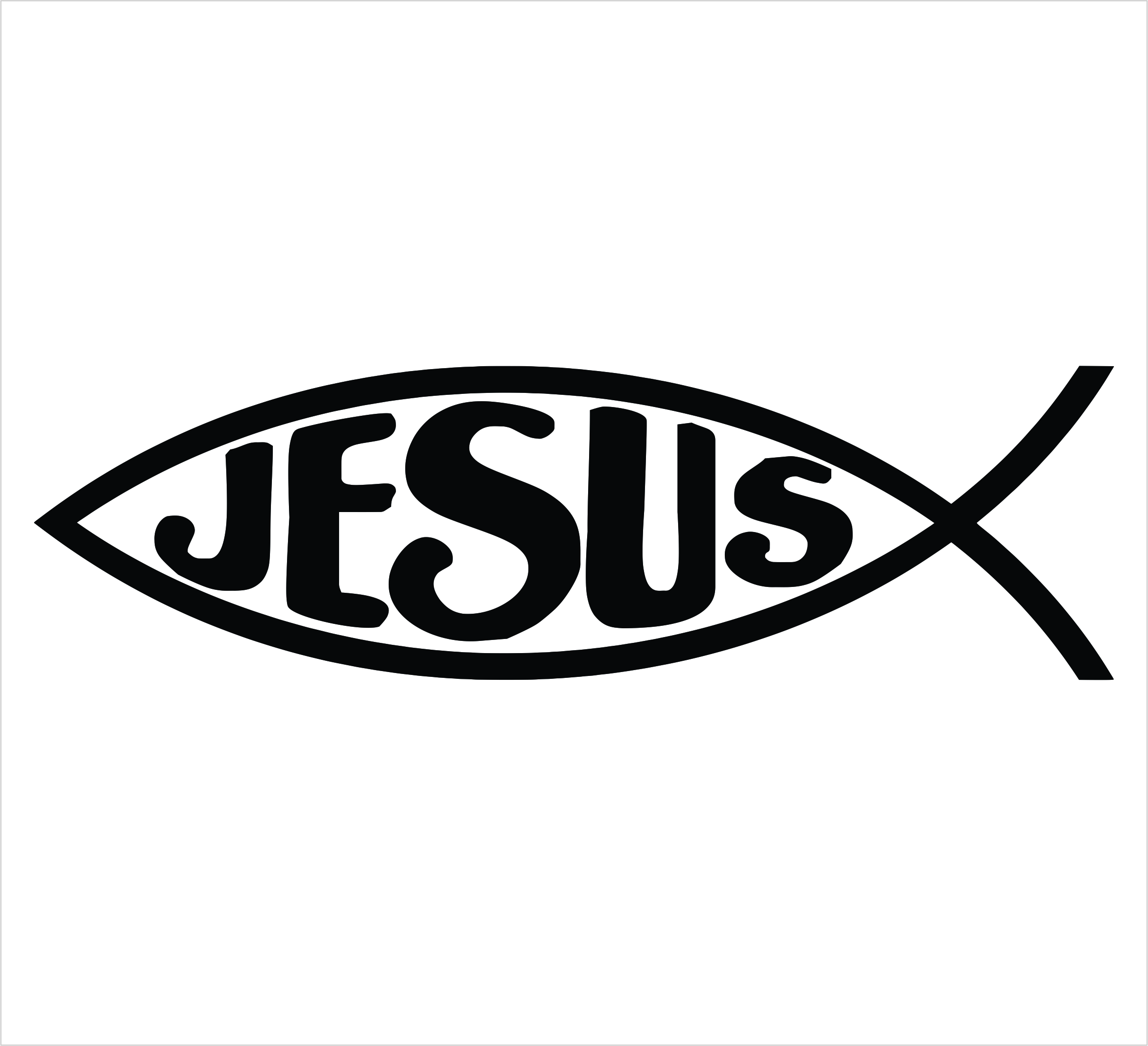 Jesus fish symbol clipart best for Christian fish symbol meaning
