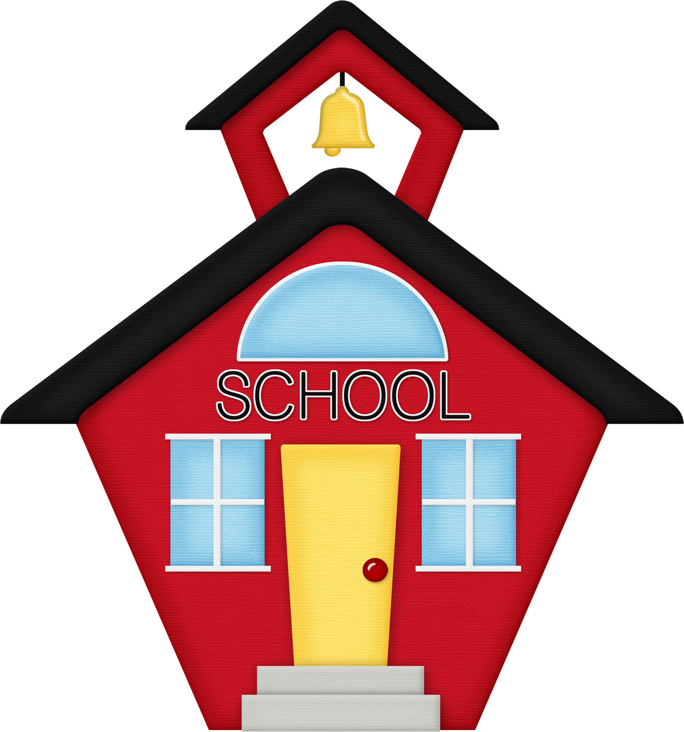 Picture Of Schoolhouse - ClipArt - 1568.3KB