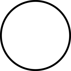 Transparent Black Circle clip art - vector clip art online ...