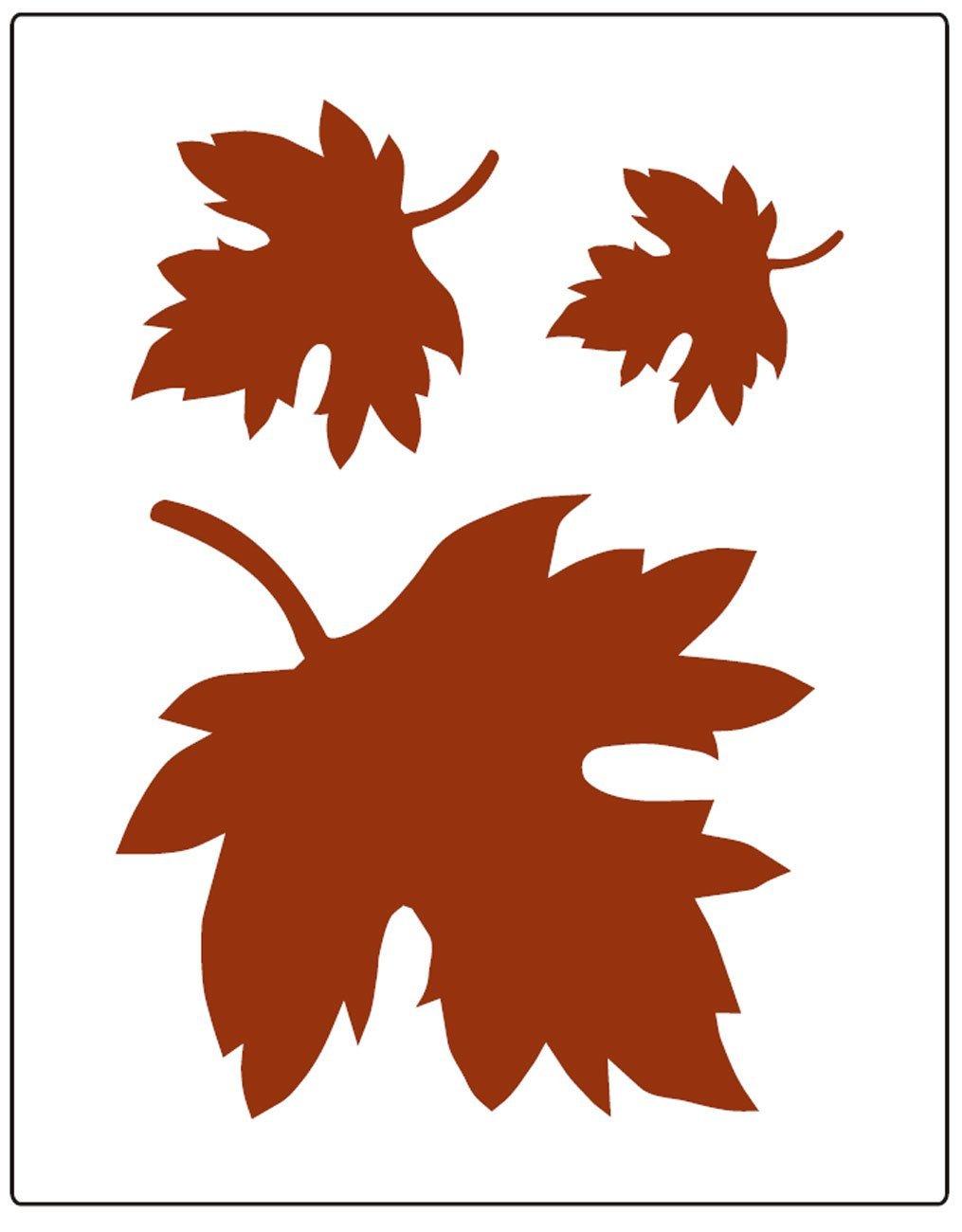 Листья деревьев для вырезания из бумаги шаблоны
