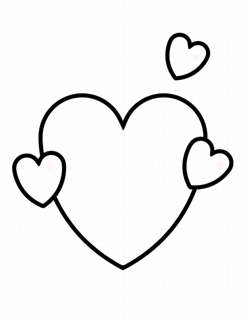 Heart With Wings Coloring Pages - ClipArt Best
