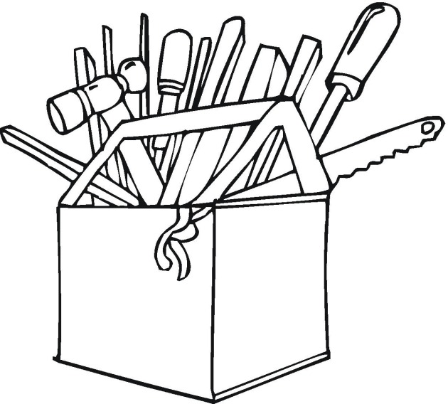 free printable coloring pages tools - photo#3