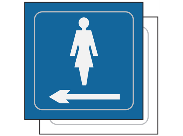 Sign For Ladies Toilet - ClipArt Best