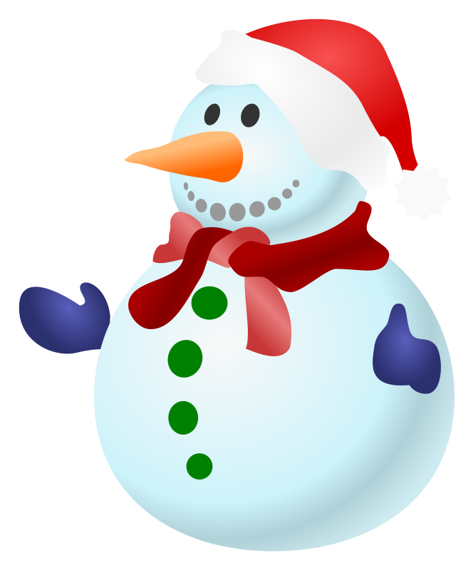 Picture Of Snowman - ClipArt Best
