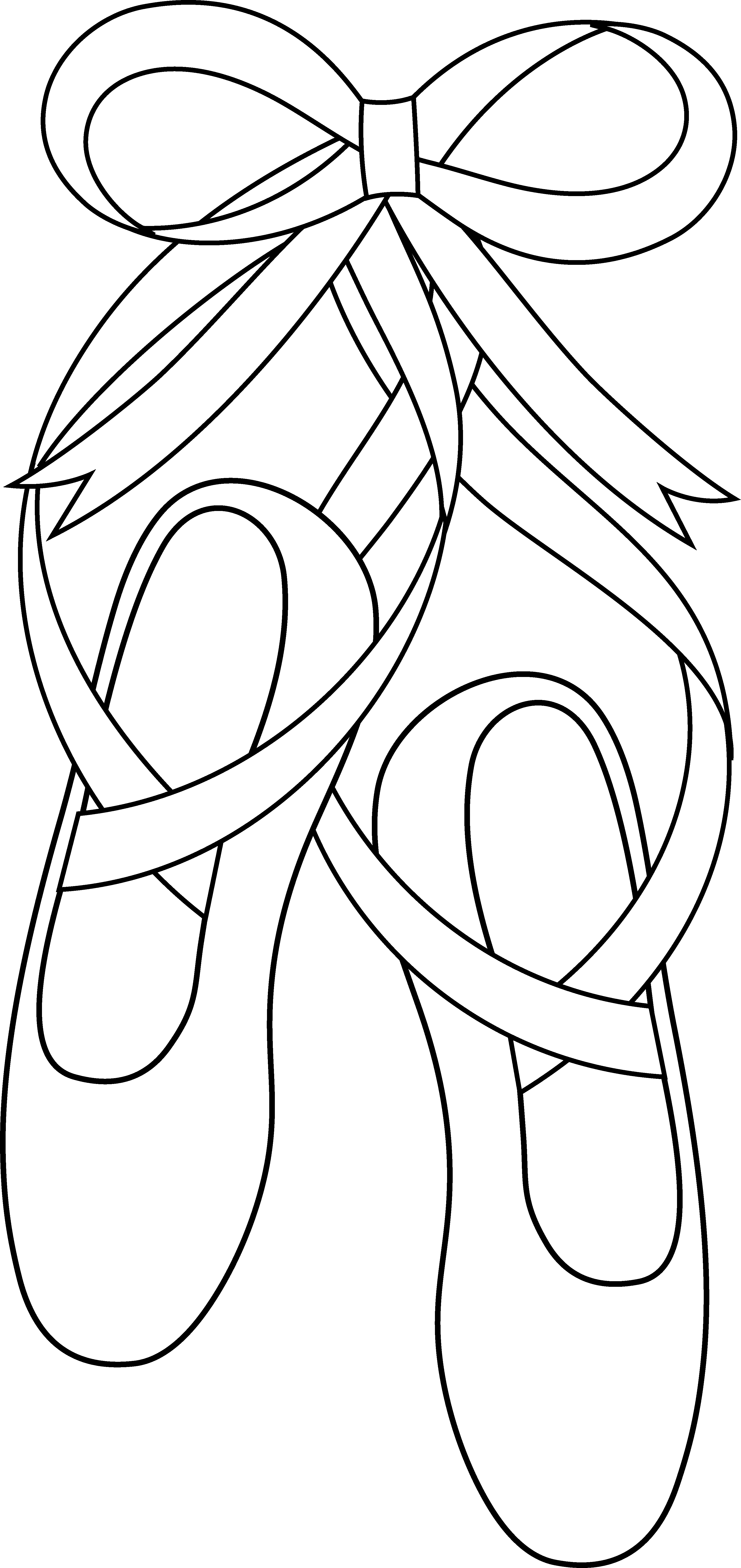 Ballet Shoes Coloring Pages Clipart Best Coloring Pages You Can Color On The Computer For Adults