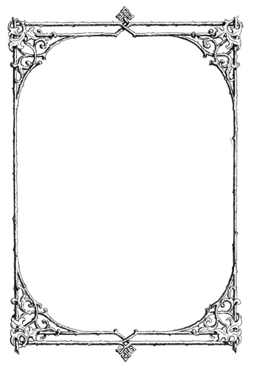 pretty simple borders clipart best