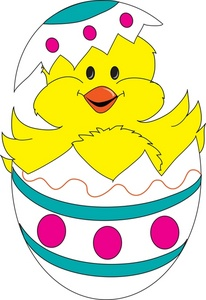 Free Easter Chick Clipart