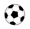 how to draw a soccer ball step by step video