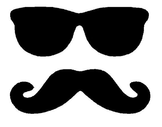 ... and Moustache Mustache Silhouette - ClipArt Best - ClipArt Best