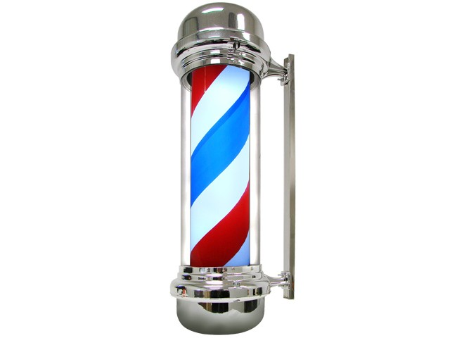 barber pole clipart