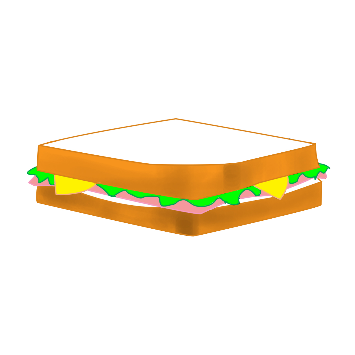 Sandwich Vector - ClipArt Best