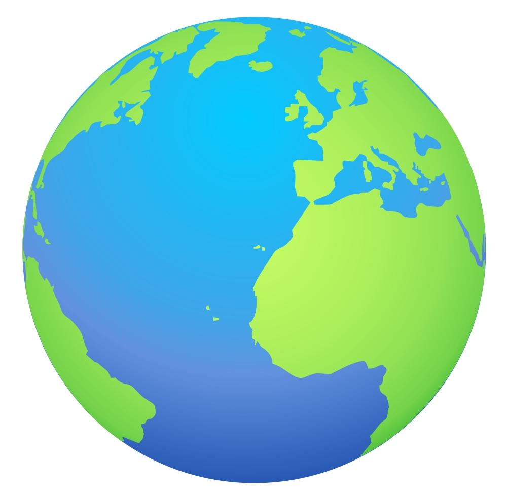 globe cartoon clipart best free globe clip art images Black and White Globe Clip Art