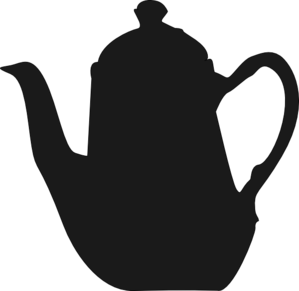 White Teapot Clipart Png - ClipArt Best