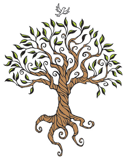 Tree Root Drawings - ClipArt Best