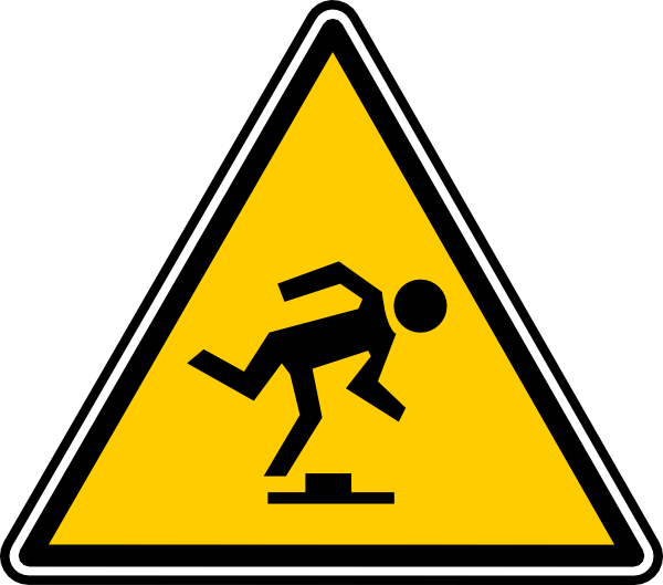 slip and fall clip art free - photo #27