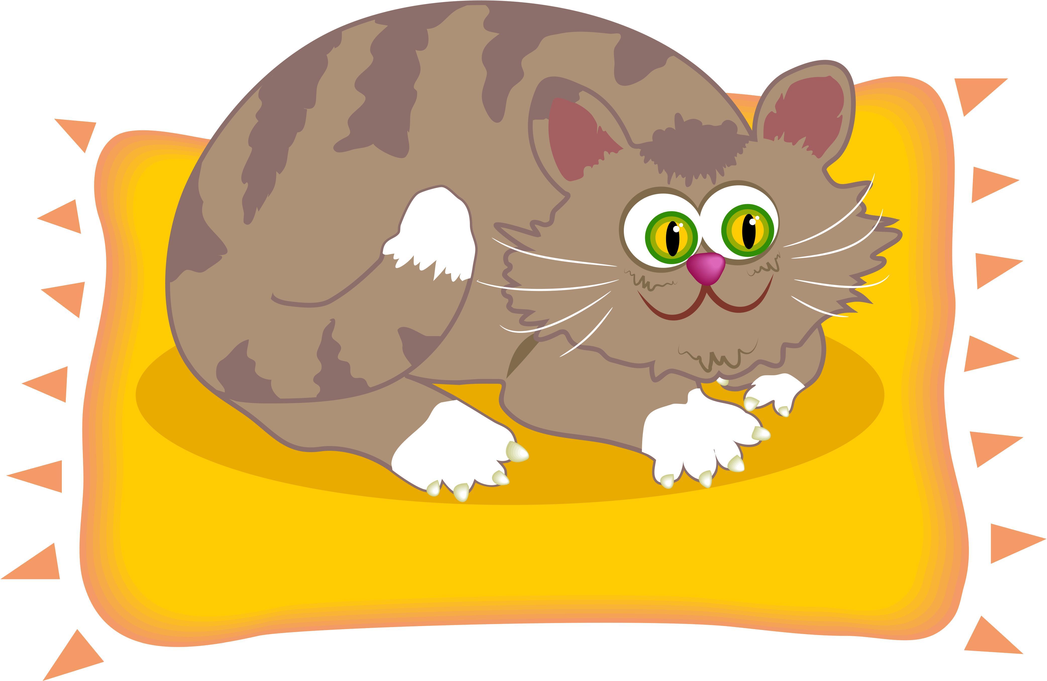 clipart fat cat - photo #11