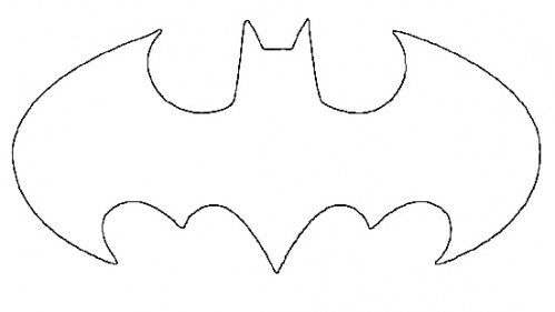 Batman Logo Template To Print