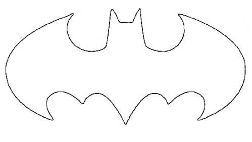 batman logo cake template - batman stencil clipart best