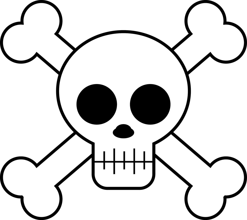 Cute Cartoon Skulls - ClipArt Best