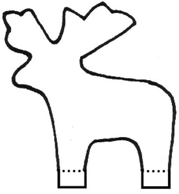 Reindeer Head Template Printable Reindeer Head Template Printable