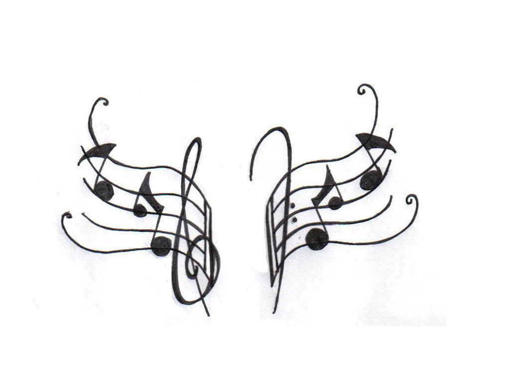 Music Note Tattoo Sketches Wwwgalleryhipcom The