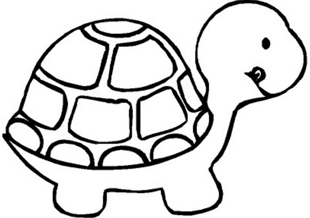 coloring pages draw easy animals preschool animal coloring pages ...