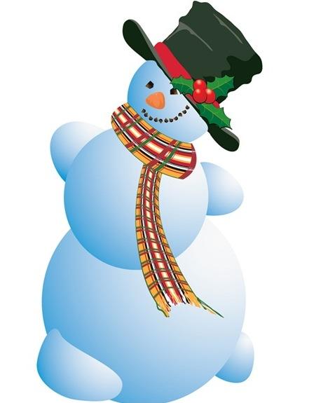 vintage snowman clipart - photo #27