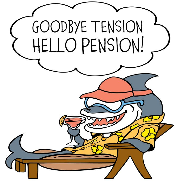 Retirement Cartoon Images on Insurance Card Clip Art