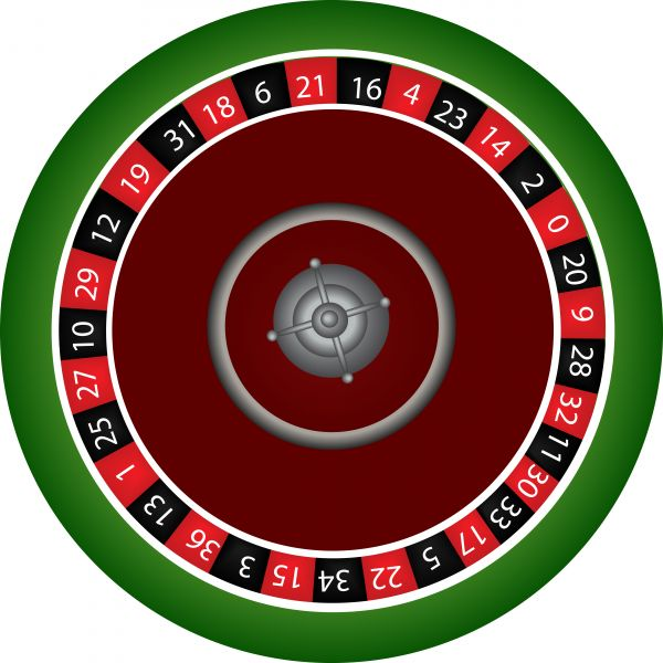 Vector roulette table