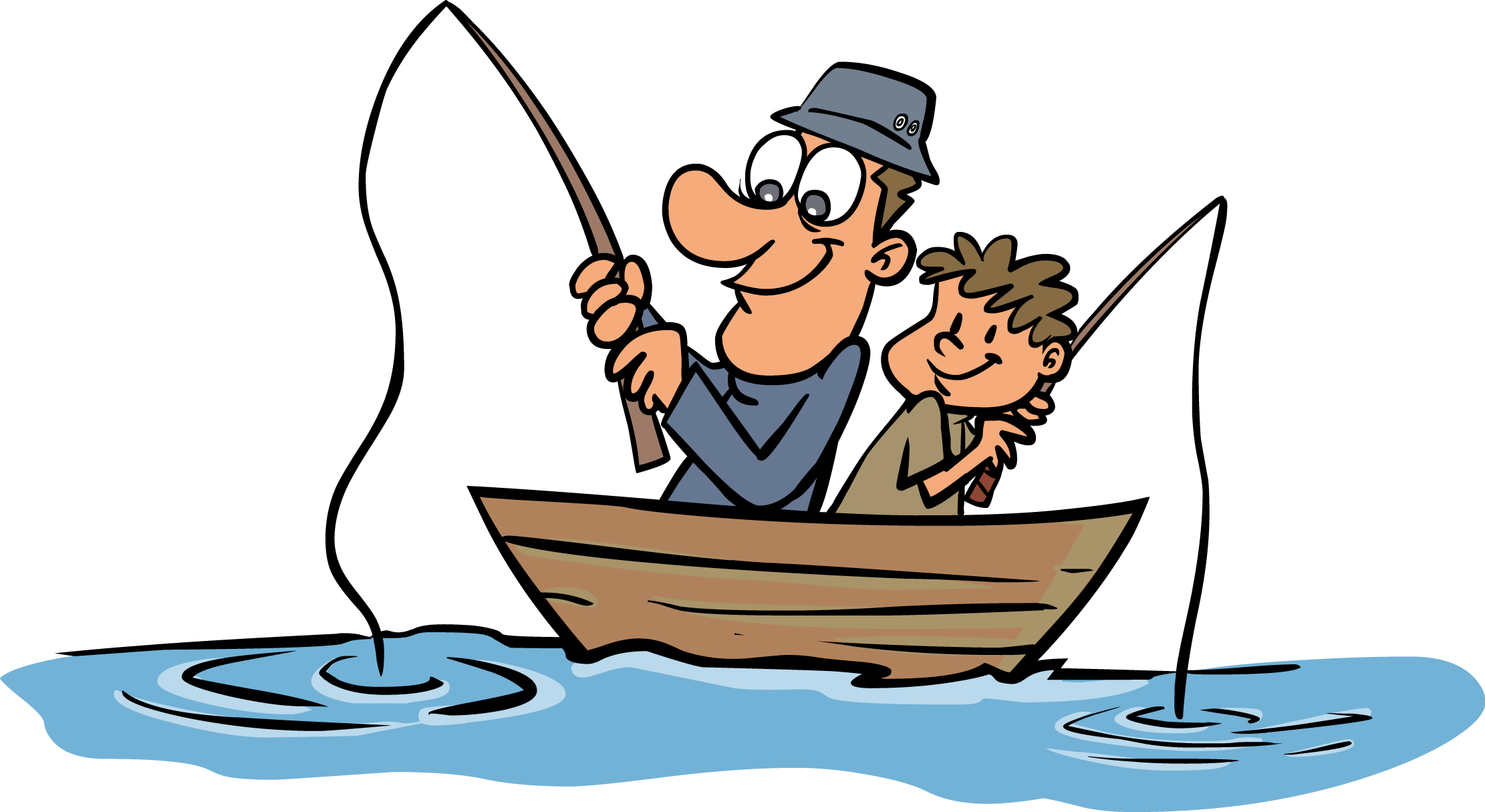 Funny Fisherman Cartoon - ClipArt Best