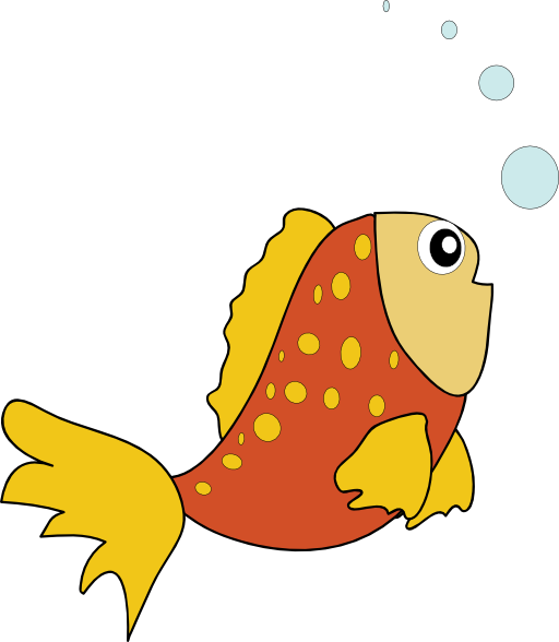 Orange Fish Clipart Ro...