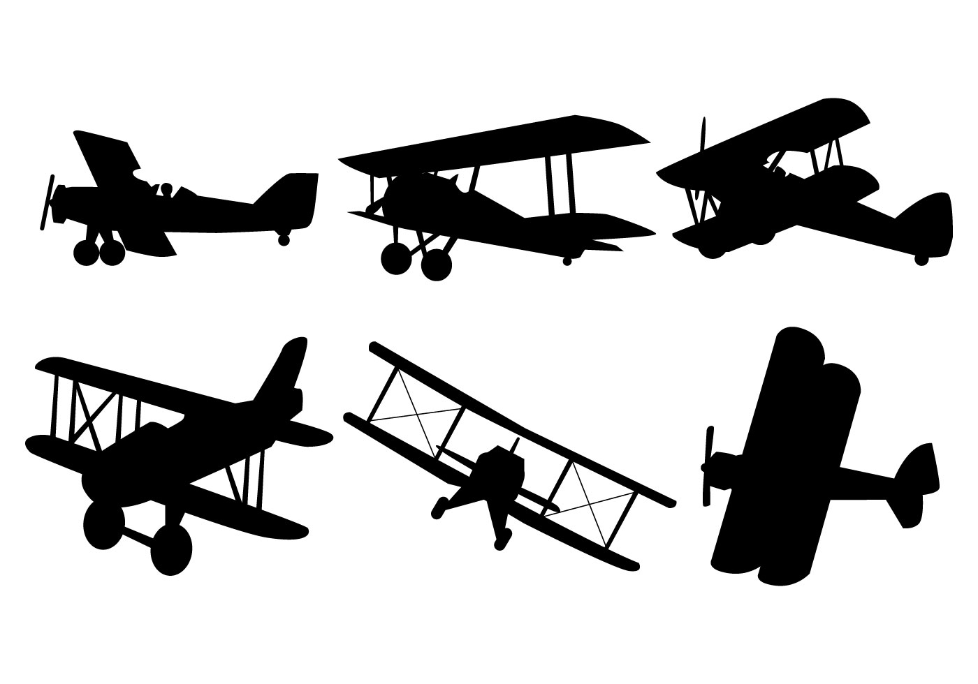 old airplane silhouette clipart best airplane clipart border airplane clip art free