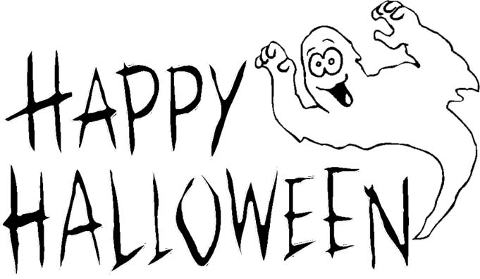 Halloween clip art black and white clipart best - Halloween black and white ...