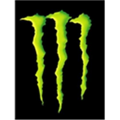 monster energy logo green clipart best